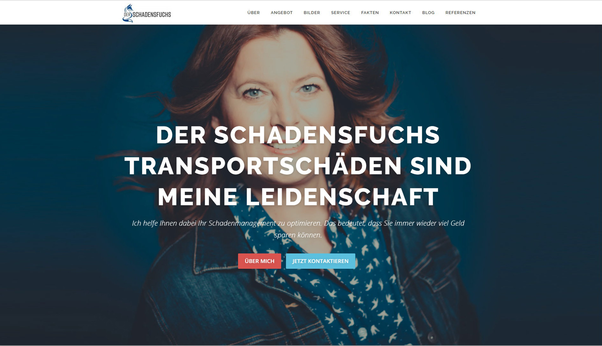 Schadensfuchs WordPress Business Website