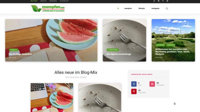 mampfen | nachhaltig leben & konsumieren